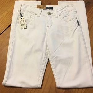 Silver Suki White Denim Jeans.